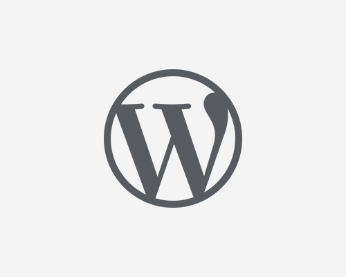 WordPress Logotype - Simplified