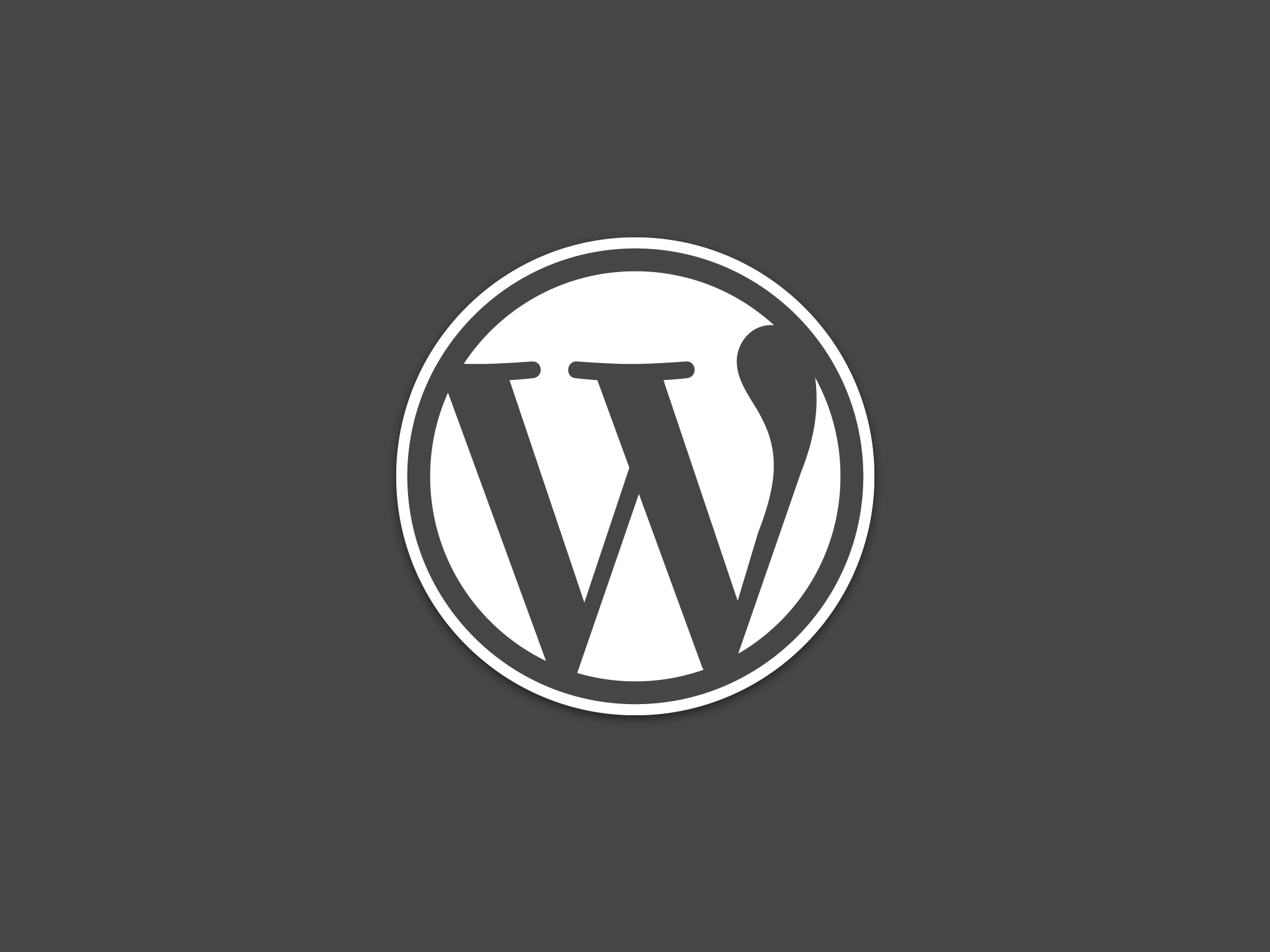 image logo in wordpress