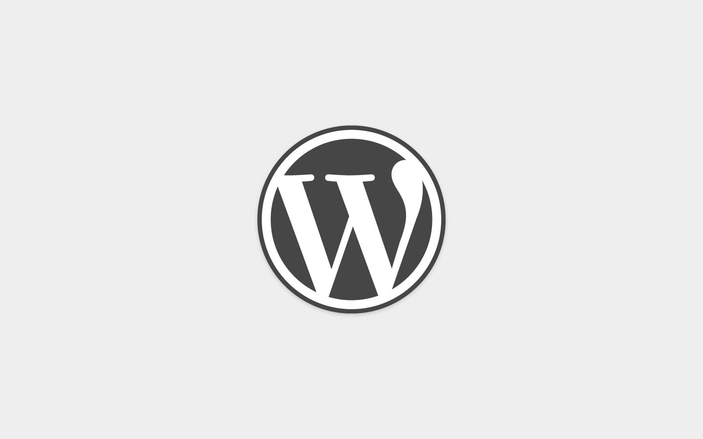 image logo wordpress