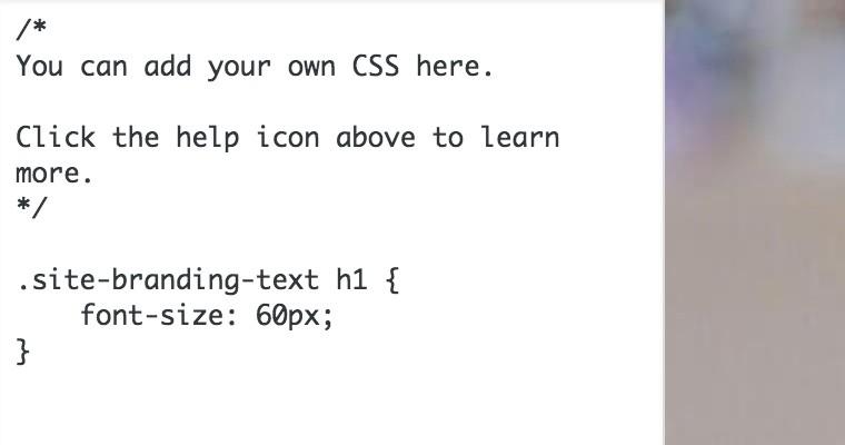 Özel CSS