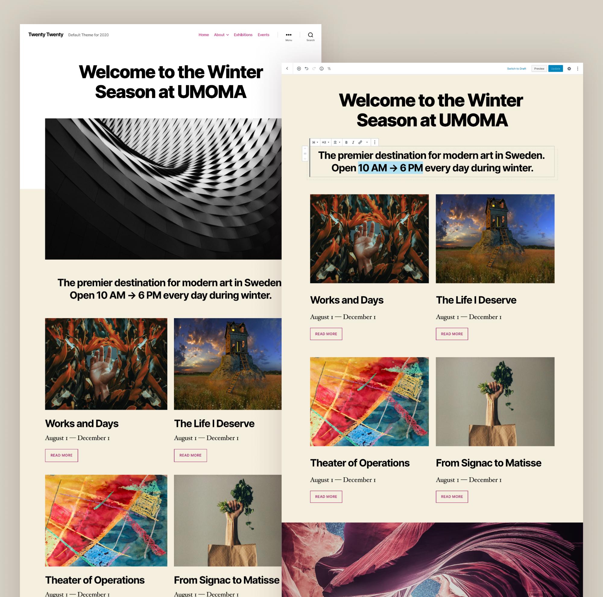 WordPress 5.3 is vrijgegeven 2