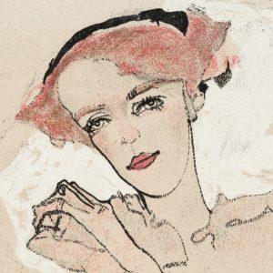 Portrait of a Woman by Egon Schiele.