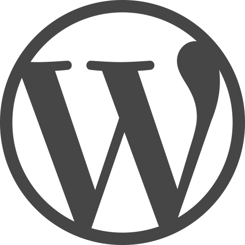 Billedresultat for wordpress logo