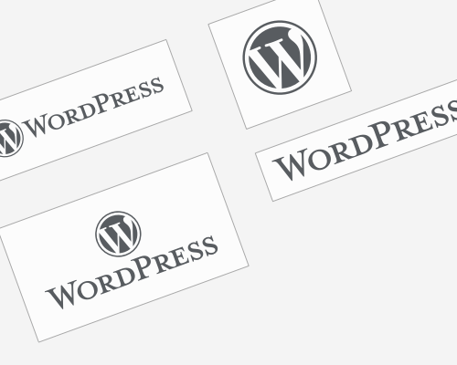 Logo WordPress – toutes les versions